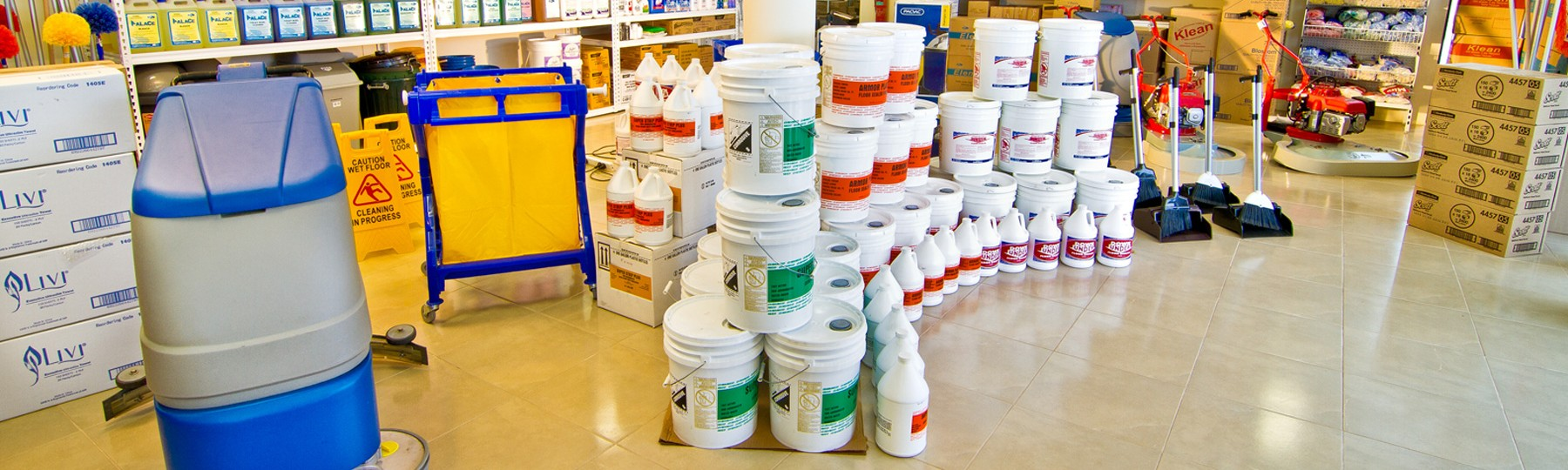 How to Safely Store Cleaning Chemicals at Your Workplace