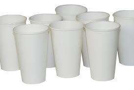 Foam, Plastic, and Paper Cups